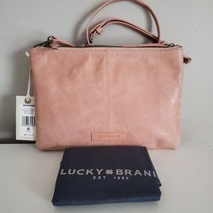 Lucky Brand Dori crossbody bag NWT